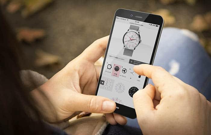 ルノータス カスタム腕時計 シミュレーション