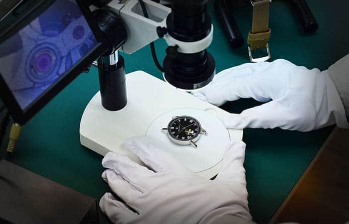 ルノータス オーダー腕時計 検査工程
