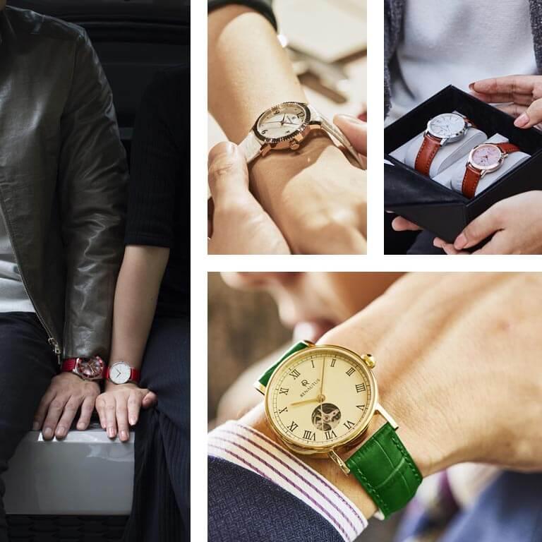 プレゼントにおすすめなルノータスの腕時計イメージ