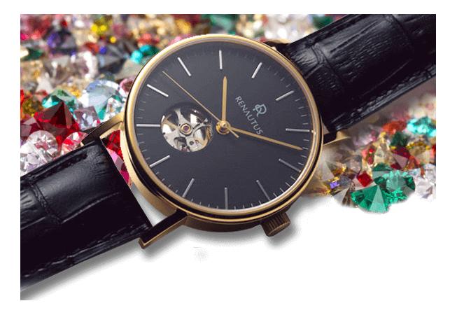 オーダー腕時計サービス誕生石
