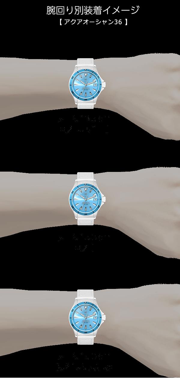 F35腕時計装着イメージ、誕生日プレゼントに